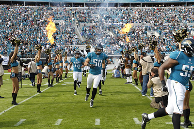 Jacksonville Jaguars defeat the Indianapolis Colts at Everbank Field in Jacksonville, FL