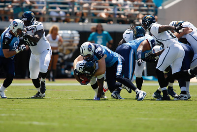 Jacksonville Jaguars v. Tennessee Titan Home Opener of  2011Season with a win 16 to 14 at Everbank Field in Jacksonville, FL.