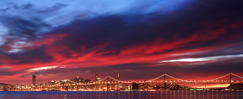 San Francisco Sunset from Alameda