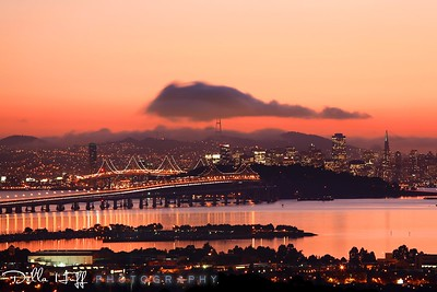 Sunset Reflections, San Francisco