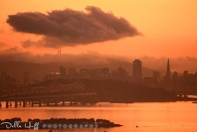 Stormy Sunset, San Francisco