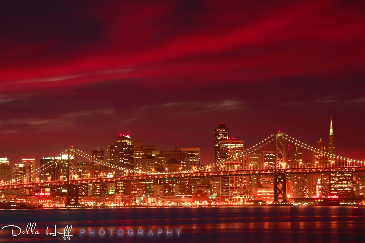 Slow Burn Sunset, San Francisco