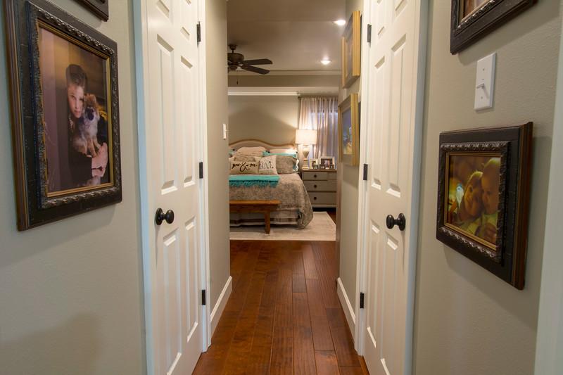 Hallway inside Master Suite