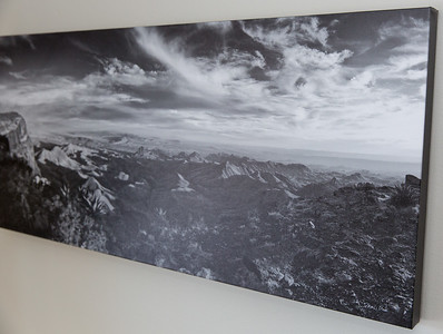 SALE DETAILS: S Rim & Quemada 36x16 canvas print  $150 (does not include sales tax or shipping).