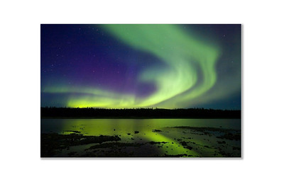 SALE DETAILS:   Aurora 8x12 Print mounted on 3mm white styrene  $20 (does not include sales tax or shipping).
