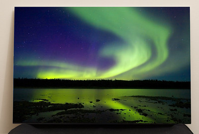"SALE DETAILS:   Aurora 16x24 Print mounted on foam core (1/4"")  $50 (does not include sales tax or shipping)."