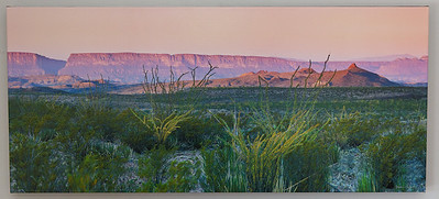 SALE DETAILS: Sierra Ponce & Mesa 36x16 canvas print  $150 (does not include sales tax or shipping).
