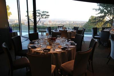 Getty Trustee House Klaus Schwab Dinner