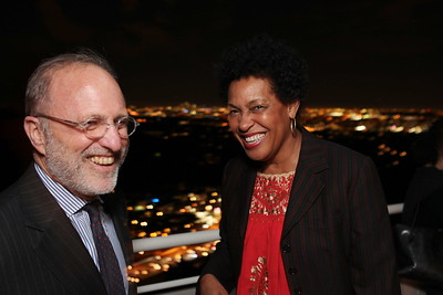 """1201009-017        LOS ANGELES, CA - JANUARY 26:A reception and lecture honoring actress Anna Deavere Smith and artists Carrie Mae Weems and Eileen Cowin, before their joint lecture """"Storytelling and Photography"""" held at the Getty Center on January 26, 2012 in Los Angeles, California. (Photo by Ryan Miller/Capture Imaging)"""