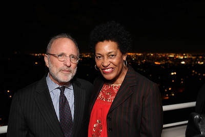 """1201009-016        LOS ANGELES, CA - JANUARY 26:A reception and lecture honoring actress Anna Deavere Smith and artists Carrie Mae Weems and Eileen Cowin, before their joint lecture """"Storytelling and Photography"""" held at the Getty Center on January 26, 2012 in Los Angeles, California. (Photo by Ryan Miller/Capture Imaging)"""
