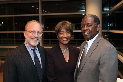 """1201009-008        LOS ANGELES, CA - JANUARY 26:A reception and lecture honoring actress Anna Deavere Smith and artists Carrie Mae Weems and Eileen Cowin, before their joint lecture """"Storytelling and Photography"""" held at the Getty Center on January 26, 2012 in Los Angeles, California. (Photo by Ryan Miller/Capture Imaging)"""