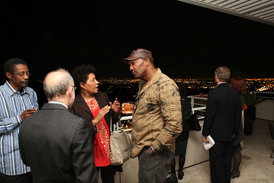 """1201009-013        LOS ANGELES, CA - JANUARY 26:A reception and lecture honoring actress Anna Deavere Smith and artists Carrie Mae Weems and Eileen Cowin, before their joint lecture """"Storytelling and Photography"""" held at the Getty Center on January 26, 2012 in Los Angeles, California. (Photo by Ryan Miller/Capture Imaging)"""