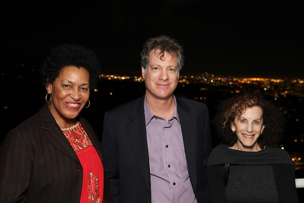 """1201009-023        LOS ANGELES, CA - JANUARY 26:A reception and lecture honoring actress Anna Deavere Smith and artists Carrie Mae Weems and Eileen Cowin, before their joint lecture """"Storytelling and Photography"""" held at the Getty Center on January 26, 2012 in Los Angeles, California. (Photo by Ryan Miller/Capture Imaging)"""