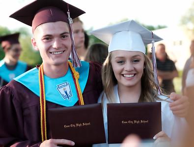Graduation - Carlee and Kate Stimpfel