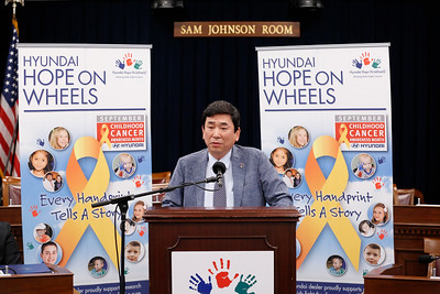 The 2018 Hyundai Hope on Wheels press conference in Washinton DC