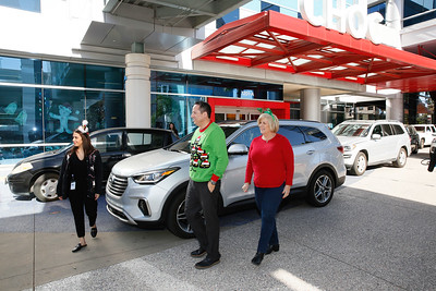 The Hyundai Toy Drive at CHOC Children's Hospital