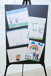 Second grade students at the Hyundai Headquarters, Fountain Valley, America - 27 April 2017