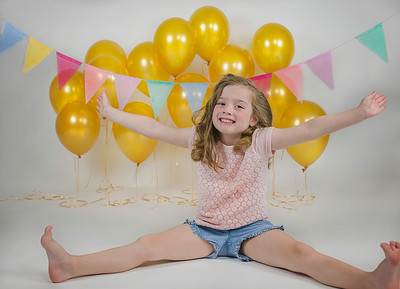2018 Oct Madeline 6 Years Old Ballons -520