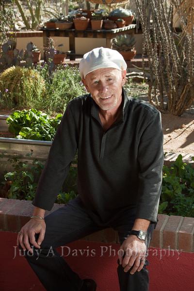 7763<br /> Executive Portraits, Tucson Botanical Gardens, Judy A Davis Photography