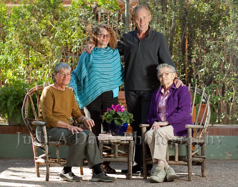 7701<br /> Family Portraits, Tucson Botanical Gardens, Judy A Davis Photography