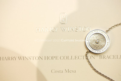 1211259-022    COSTA MESA, CA -  NOVEMBER 1: The Harry Winston Hope Collection Bracelet debut to benefit CHOC Children's hospital at the Harry Winston South Coast Plaza Salon on November 1, 2012 in Costa Mesa, California. (Photo by Michael Rueter/Capture Imaging)