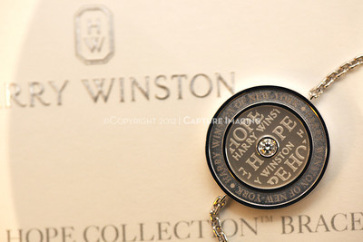 1211259-024    COSTA MESA, CA -  NOVEMBER 1: The Harry Winston Hope Collection Bracelet debut to benefit CHOC Children's hospital at the Harry Winston South Coast Plaza Salon on November 1, 2012 in Costa Mesa, California. (Photo by Michael Rueter/Capture Imaging)