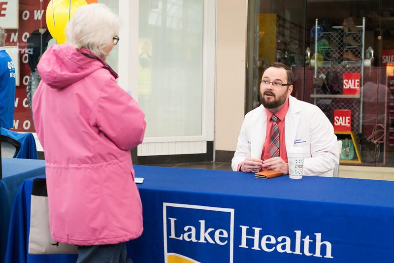 Lake Health,Great Lakes Mall,Mall Walker,Kick Off