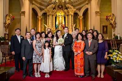 Five Wound Church Wedding - Helen Nguyen and John Quach-400