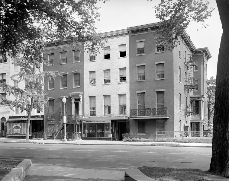 805-801 Mt. Vernon Place, NW, photographed 7/20/1963.