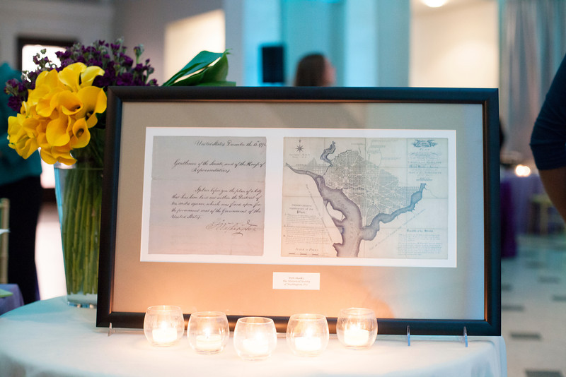 "The Historical Society of Washington, D.C.'s 2013 Legacy Gala honored the Quander and Saul families. The event, held at the Society's home in the Carnegie Library building at Mt. Vernon Square also marked the reopening of the ""Window to Washington"" exhibit (including more than 25 newly curated artworks). New acquisitions to the collections were displayed in the Kiplinger Research Library, and guests were introduced to the Urban Photography Series,  a grant-funded project which was launched by the Society in spring 2013.  Speakers: HSW chair Julie Koczela; emcee Mark Plotkin; Deputy Mayor for Public Safety and Justice Paul Quander;  Dr. Ida Jones of the Moorland-Spingarn Research Center at Howard University; honoree Rohulamin Quander; 2012 honoree Austin H. Kiplinger; and honoree B.F. Saul II.<br /> Shot 11/13/2013"