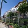 The Society's Urban Photography Series includes guided photo tours of neighborhoods in each of the District's eight wards. The tour of Park View (Ward 1) was led by Kent Boese. <br /> <br /> PICTURED:  Houses on the west side of Warder Street between Park Road and Newton Place NW.<br /> <br /> Shot 6/22/2013. Credit: Anne McDonough, © Historical Society of Washington, D.C.