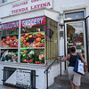 The Society's Urban Photography Series includes guided photo tours of neighborhoods in each of the District's eight wards. The tour of  Brightwood (Ward 4) was led by Pat Tyson. <br /> <br /> PICTURED: Usulutan Grocery, 5768 Georgia Avenue NW.<br /> <br /> Shot 6/29/2013. Credit: Anne McDonough, © Historical Society of Washington, D.C.