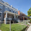 The Society's Urban Photography Series includes guided photo tours of neighborhoods in each of the District's eight wards. The tour of Park View (Ward 1) was led by Kent Boese. <br /> <br /> PICTURED: Houses on the south side of Lamont Street between Georgia Avenue and Keefer Place NW. <br /> <br /> Shot 6/22/2013. Credit: Anne McDonough, © Historical Society of Washington, D.C.