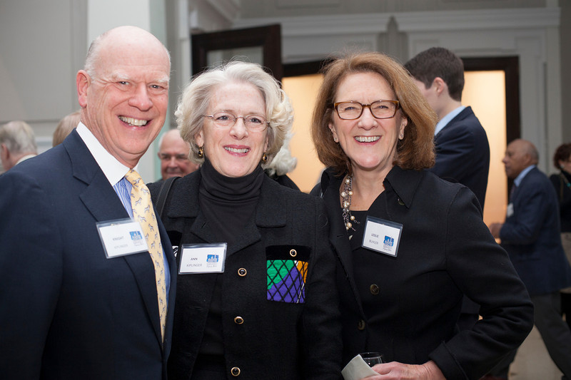 """The Historical Society of Washington, D.C.'s 2013 Legacy Gala honored the Quander and Saul families. The event, held at the Society's home in the Carnegie Library building at Mt. Vernon Square, also marked the reopening of the """"Window to Washington"""" exhibit (including more than 25 newly curated artworks). New acquisitions to the collections were displayed in the Kiplinger Research Library, and guests were introduced to the Urban Photography Series,  a grant-funded project which was launched by the Society in spring 2013.Speakers: HSW chair Julie Koczela; emcee Mark Plotkin; Deputy Mayor for Public Safety and Justice Paul Quander;  Dr. Ida Jones of the Moorland-Spingarn Research Center at Howard University; honoree Rohulamin Quander; 2012 honoree Austin H. Kiplinger; and honoree B.F. Saul II.<br /> Shot 11/13/2013.  Shot 11/13/2013"""