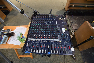 Livestream audio board