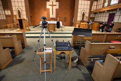 Livestream set up