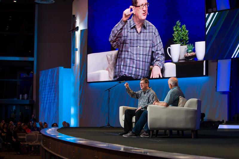 Lee Strobel visits Saddleback