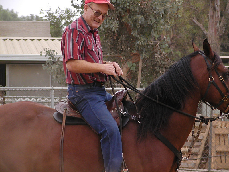 Jim was pretty convinced that his favorite endurance saddle, no longer made, could be retrofitted with Reactor Panel technology.  So that's just what he had done, it had to go to England for that!  It was not a good thing for his wider horses though!