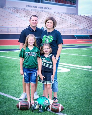 Iowa Park Coaches and Family