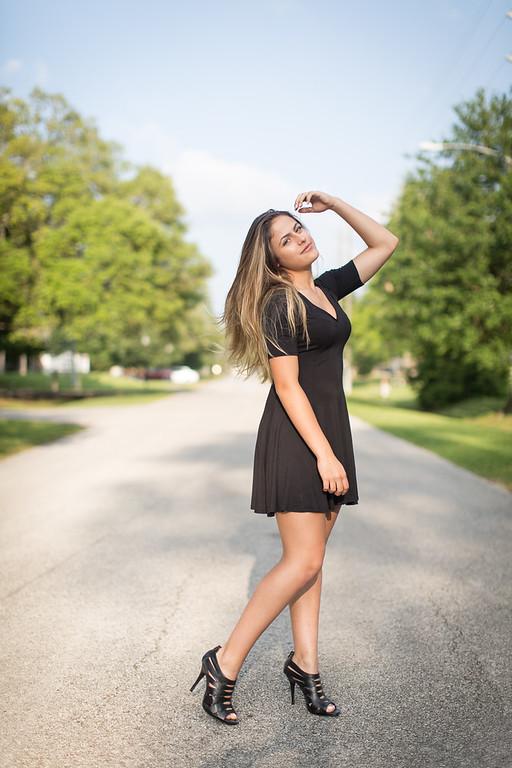 Isabella Machado Black Dress