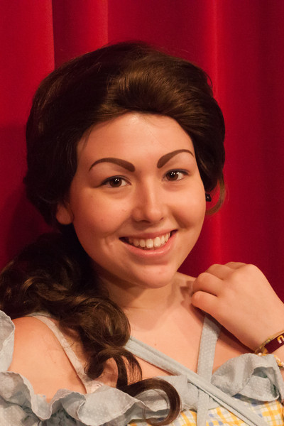 Belle's headshot - Kelsey Wenstrom from Ayer Youth Drama as Belle in Beauty and the Beast.