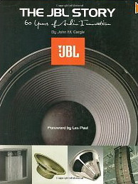 """The JBL Story-Sixty Years of Innovation"", by John M. Eargle.  Forward by Les Paul.  320 page hardback,  celebrating 60 years of success in speaker design and manufacturing.  ""Wall of Sound"" image used on page 222."