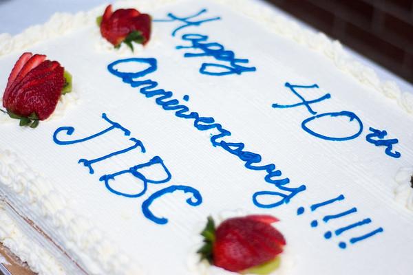 JIBC 40th Anniversary Cake/Celebration