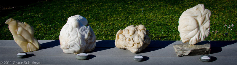 Stone Carvings by Jack Wikse
