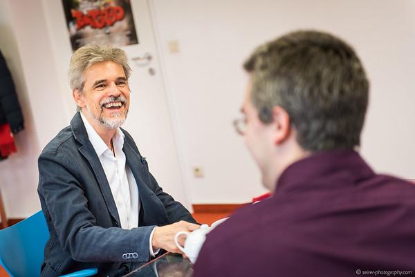 Thomas Brezina im Interview mit Stefan Cernohuby