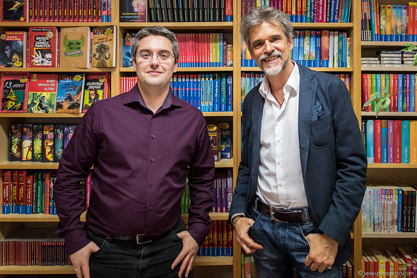 Thomas Brezina mit Stefan Cernohuby von Janetts Meinung