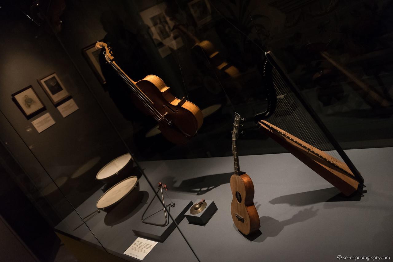 Musikinstrumente von Franz Joseph