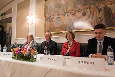 Karl Vocelka, Franz Sattlecker, Sabine Haag, Mario Döberl