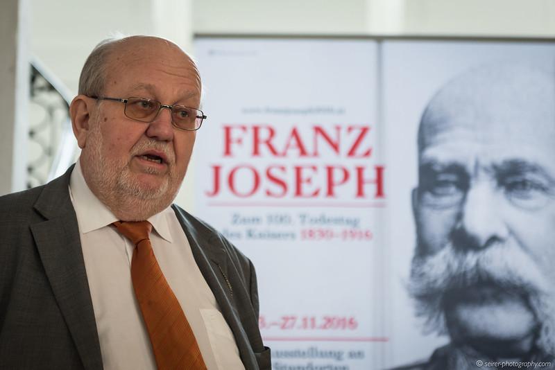Karl Vocelka, Kurator Schloß Schönbrunn, Hofmobiliendepot