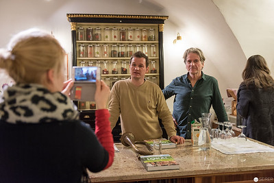 """Buchpräsentation """"Lokal"""" im """"Babett's"""" in Wien mit Georg Schweisfurth und Simon Tress"""